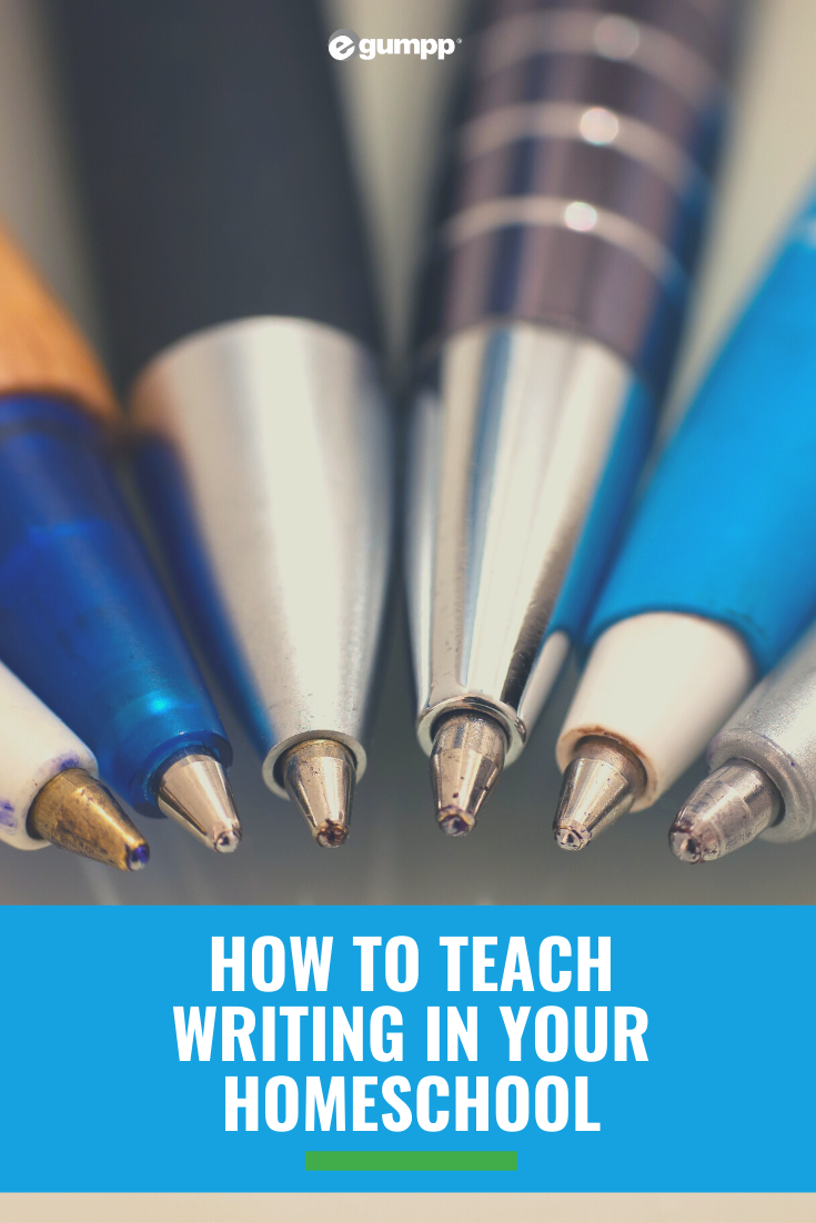 Teaching writing homeschool