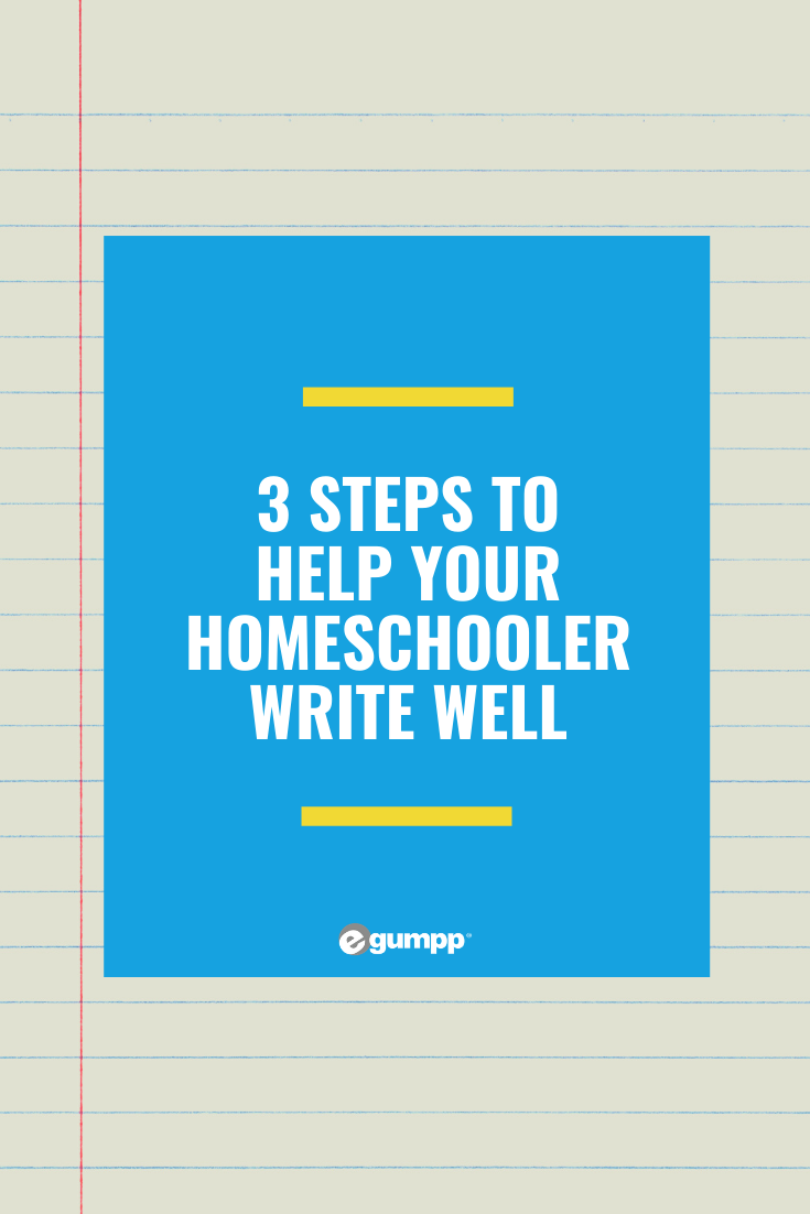 help homeschool student write paper
